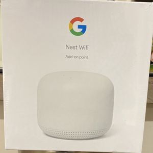 Brand New Unopened Google Nest Wifi POINT for Sale in Beverly Hills, CA