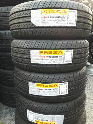 195/55-15 #4 new tires for Sale in Alexandria, VA