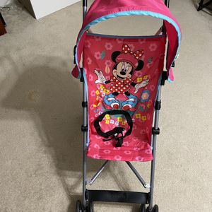 Disney Baby Umbrella Stroller with Canopy, All about Minnie for Sale in Woodbridge, VA