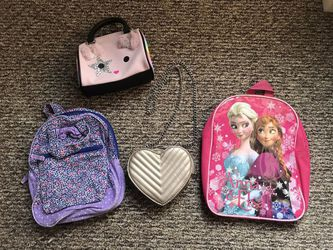 girls backpacks and purses for Sale in Malden,  MA