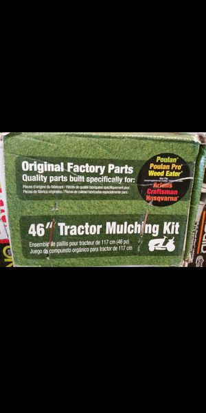 HUSQVARNA 46 in. Tractor Mulch Kit for Sale in Grand Prairie, TX