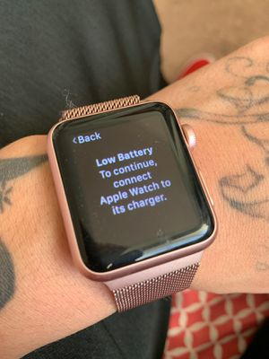 Apple Watch . Series one 40$forgot my passcode and iCloud for Sale in Fresno, CA