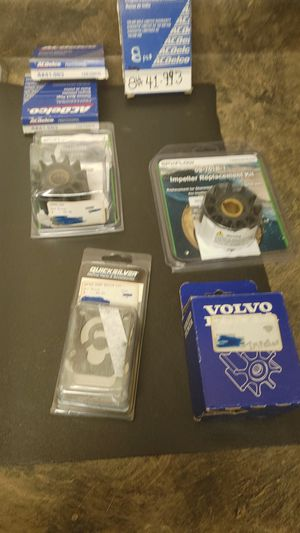 Boat parts. Impellers and spark plugs for Sale in Sacramento, CA