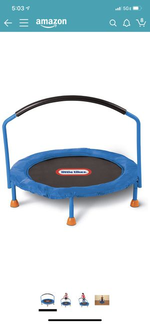 Little tikies trampoline for Sale in Columbus, OH
