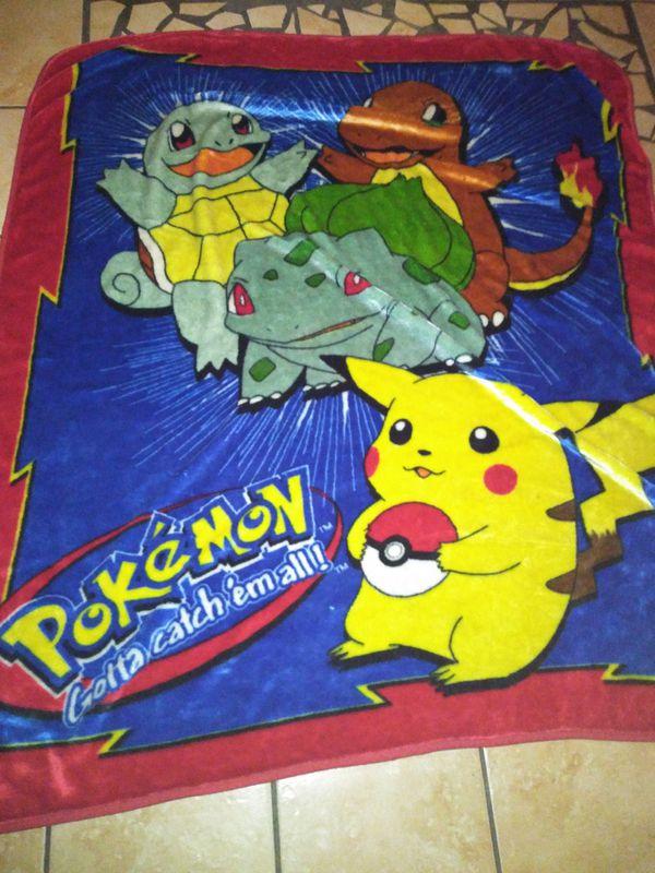 Pokemon blanket