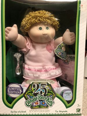 2008 25th Anniversary Limited Edition Cabbage Patch Doll for Sale in Puyallup, WA
