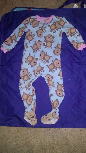 SZ 3T - monkey jammies for Sale in Kimberly, WI