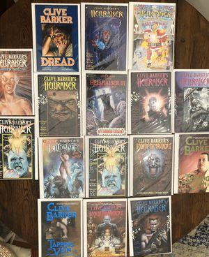 Clive barker comic book lot for Sale in Dallas, TX