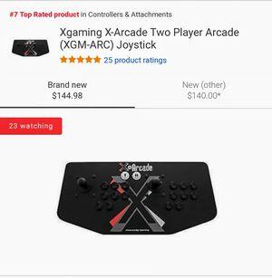 Xgaming X-Arcade Two Player Arcade (XGM-ARC) Video Game Controller for Sale in Atlanta, GA