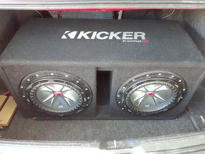 Kicker cvr 10 dual 2ohm for Sale in Orlando, FL