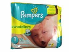 Loose newborn and size 1 pamper brand diapers about 100 size newborn and 20 size 1 for Sale in Hammond, IN