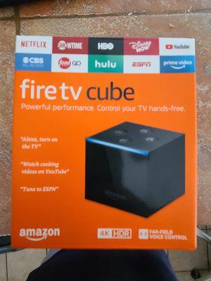 Fire tv cube for Sale in Phoenix, AZ