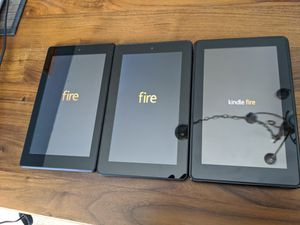 Kindle Fires (1st, 5th, 7th Gen) for Sale in Seattle, WA