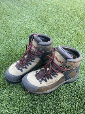 Mens Sz 10 Feather Peak Montrail Brown Hiking Boots for Sale in Las Vegas, NV