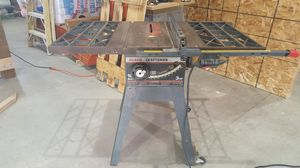 Craftsman Table saw for Sale in Powell Butte, OR