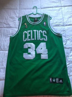 OFFICIAL NBA Boston Celtics (PAUL PIERCE) NBA FINALS jersey .. STICHED!!!! for Sale in North Las Vegas, NV