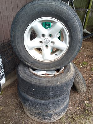 Jeep cherokee XJ wheels for Sale in Glenarden, MD