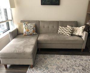 Reversible sleeper sofa for Sale in Reston, VA