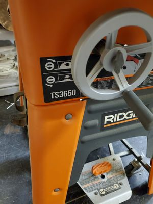 Ridged Table Saw for Sale in Fort Myers, FL