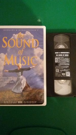 The SOUND Of MUSIC (VHS) for Sale in Lewisville, TX