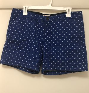 Merona | Blue Polka Dot Shorts | Size 10 for Sale in Raleigh, NC