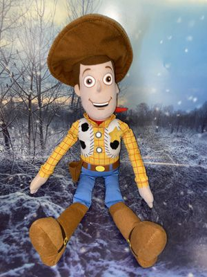 "Disney Pixar Toy Story 4 - large Woody the cowboy plush toy approximately 18"". for Sale in Bellflower, CA"