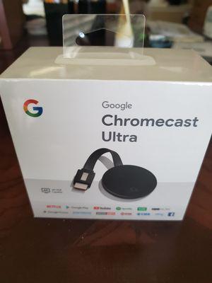Google Chromecast Ultra for Sale in Sully Station, VA