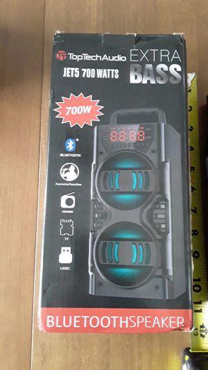 Top Tech Audio Jet 5 Bluetooth Speaker 700 Watts for Sale in Detroit, MI