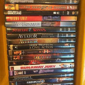 DVD Blu-Ray Movies -Drama, Sci-Fi, Comedy, Action, Adventure for Sale in Garden Grove, CA