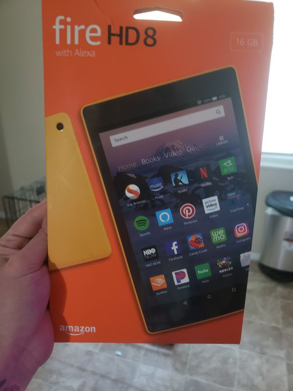 New Kindle fire hd8
