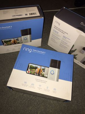 Ring Door Bell 3 .... I have 2 left all brand new never used for Sale in Pelham Manor, NY