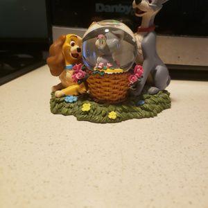 Disney Lady And Tramp Mini Snowglobe for Sale in Joliet, IL