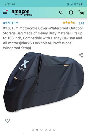 Motorcycle weather cover for Sale in San Leandro, CA