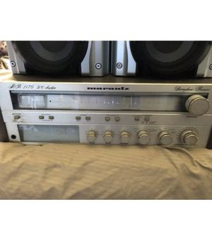 Marantz MR 1170 DC Amplifier Stereophonic Reciever (WORKING) for Sale in South Gate, CA