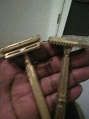 Antique brass shavers for Sale in Detroit, MI