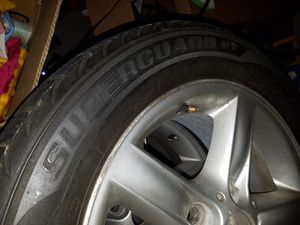 4 bmw rims include tires but worn out tires. for Sale in Frederick, MD