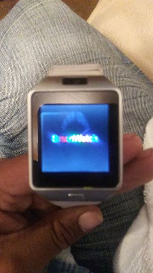 White Android Smartwatch for Sale in Abilene, TX
