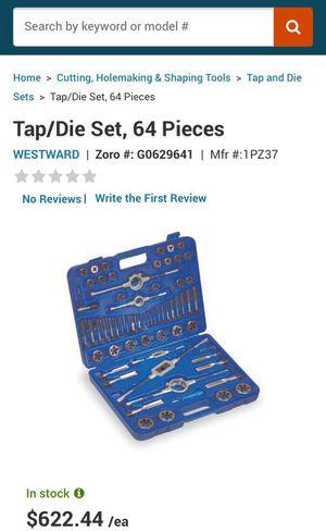 Brand New Westward Tap/Die Set 64 Pieces for Sale in Breezy Point, MN