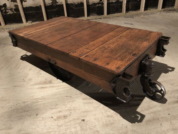 Early 1900's Antique Factory Cart