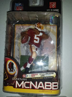 WASHINGTON REDSKINS D MCNABB MCFARLANE SPORTS FIGURE NEW IN PACKAGE for Sale in Azusa, CA