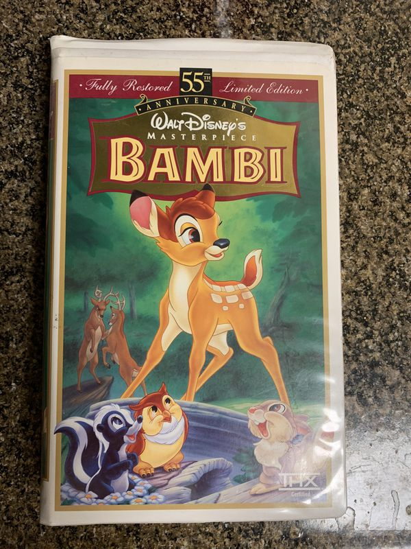 Disney VHS tapes