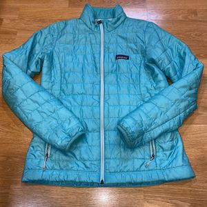 Patagonia Nano Puff Women S Blue Jacket for Sale in Portland, OR