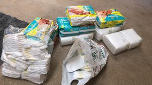 pampers Sizes nb ,1 &2 for Sale in Vallejo, CA