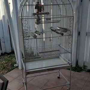 Bird Cage...jaula grande 67 x32 x 20 for Sale in Hialeah, FL