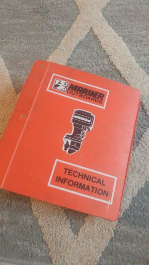 Mariner trolling and outboard motor manuals for Sale in Mesa, AZ