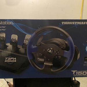 Theustmaster T150 Pro Wheel For PS4/PC for Sale in Flower Mound, TX