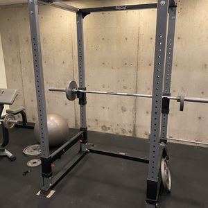 Squat Rack, Preacher Curl And Adjustable Weight Bench for Sale in Vancouver, WA