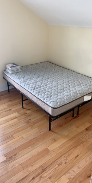 FULL SIZED BED AND FRAME $100 for Sale in Albany, NY