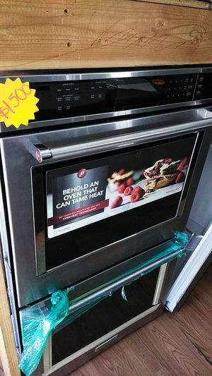 """NEW ! KITCHEN AID 30"""" ELECTRIC STAINLESS STEEL DOUBLE WALL OVEN for Sale in La Mesa, CA"""
