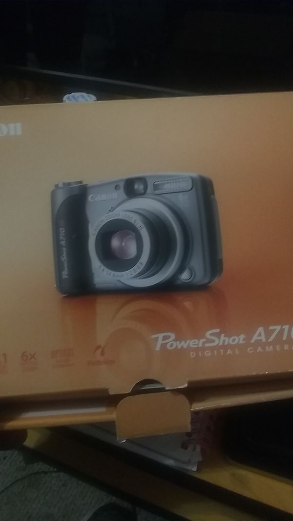Canon PowerShot a710is digital camera